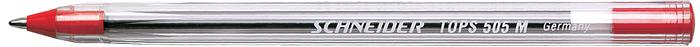 Pix Schneider Tops 505m  Unica Folosinta  Varf Mediu  Corp Transparent - Scriere Rosie