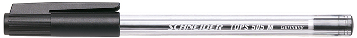 Pix Schneider Tops 505m  Unica Folosinta  Varf Mediu  Corp Transparent - Scriere Neagra