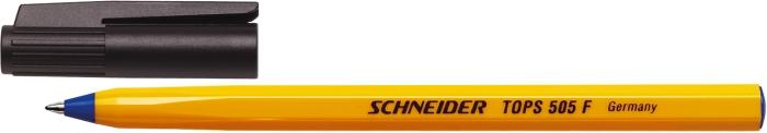 Pix Schneider Tops 505f  Unica Folosinta  Varf Fin  Corp Orange - Scriere Albastra