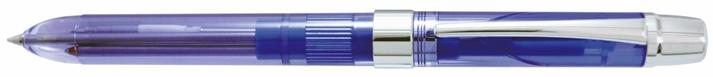 Pix Multifunctional Penac Ele-001  Doua Culori + Creion Mecanic 0.5mm - Transparent Albastru