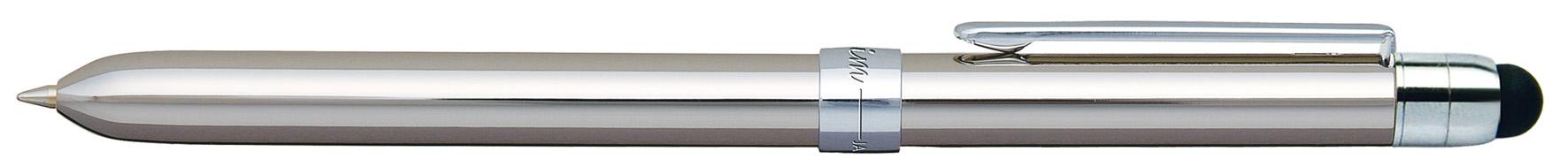 Pix Multifunctional De Lux Penac Slim  In Cutie Cadou  Corp Argintiu - Accesorii Argintii