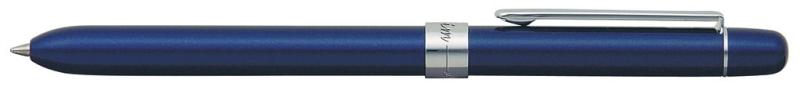 Pix Multifunctional De Lux Penac Slim Touch  In Cutie Cadou  Corp Bleumarin - Accesorii Argintii