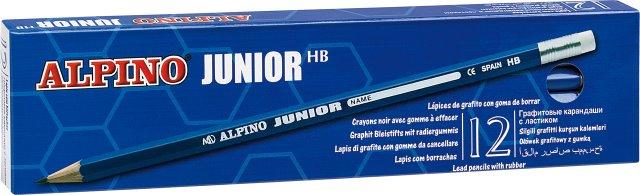 Creion Cu Guma Alpino Junior