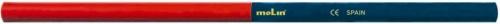Creion Bicolor  Rosu-albastru  Molin