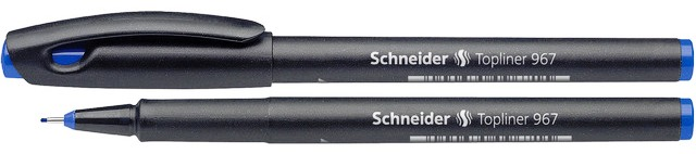 Liner Schneider 967  Varf Fetru 0.4mm - Albastru