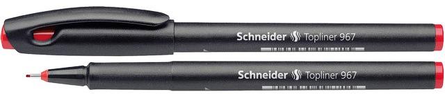 Liner Schneider 967  Varf Fetru 0.4mm - Rosu