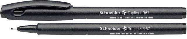 Liner Schneider 967  Varf Fetru 0.4mm - Negru