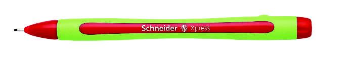 Liner Schneider Xpress  Rubber Grip  Varf Fetru 0.8mm - Rosu