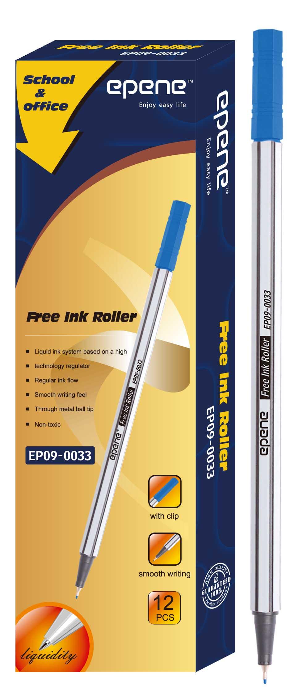 Fine Liner 0.4 Mm  Epene - Albastru