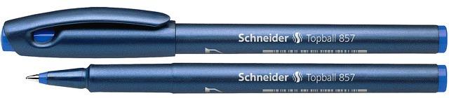 Roller Schneider Topball 857  Varf Cu Bila 0.6mm - Scriere Albastra