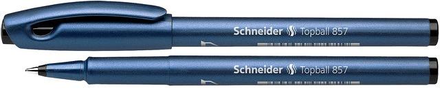 Roller Schneider Topball 857  Varf Cu Bila 0.6mm - Scriere Neagra