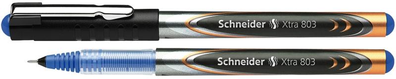 Roller Cu Cerneala Schneider Xtra 803  Needle Point 0.3mm - Scriere Albastra