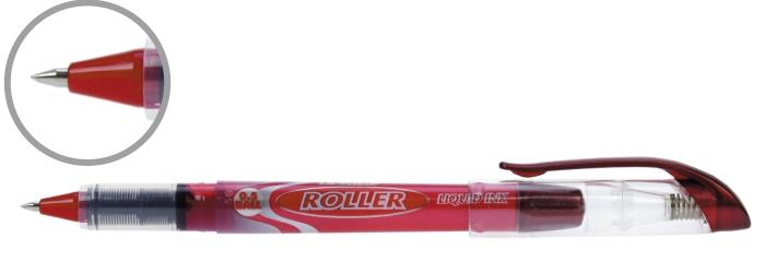 Roller Cu Cerneala Penac Liqroller Ball Point  0.7mm - Rosu