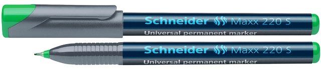 Universal Permanent Marker Schneider Maxx 220 S  Varf 0.4mm - Verde