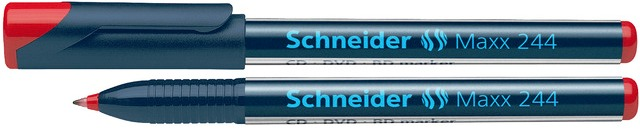 Cd/dvd-marker Schneider Maxx 244  Varf 0.7mm - Rosu
