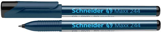 Cd/dvd-marker Schneider Maxx 244  Varf 0.7mm - Negru