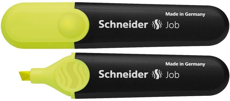 Textmarker Schneider Job  Varf Tesit 1+5mm - Galben