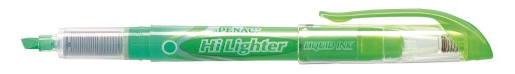 Textmarker Cu Cerneala Penac Liqliner  Varf 1-4 Mm - Verde