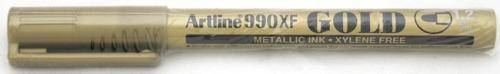 Marker Cu Vopsea Artline 900xf  Corp Metalic  Varf Rotund 2.3mm - Auriu
