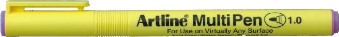 Marker Universal Artline Multi Pen  Varf Rotund 1.0mm - Violet Pastel