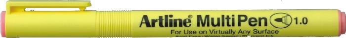 Marker Universal Artline Multi Pen  Varf Rotund 1.0mm - Roz Pastel