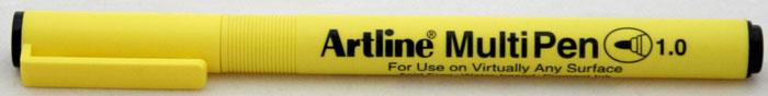 Marker Universal Artline Multi Pen  Varf Rotund 1.0mm - Negru