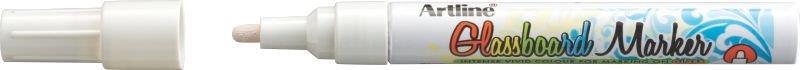 Marker Pentru Tabla De Sticla Artline Glassboard  Varf Rotund 2.0mm - Alb