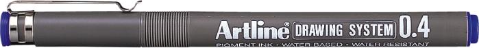 Marker Pentru Desen Tehnic Artline  Varf Fetru 0.4mm - Albastru