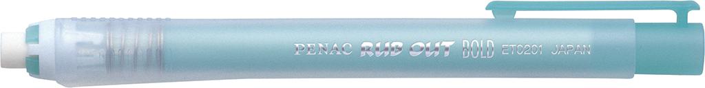 Radiera Mecanica Penac Rub Out Bold  Cilindrica  100% Cauciuc - Corp Verde