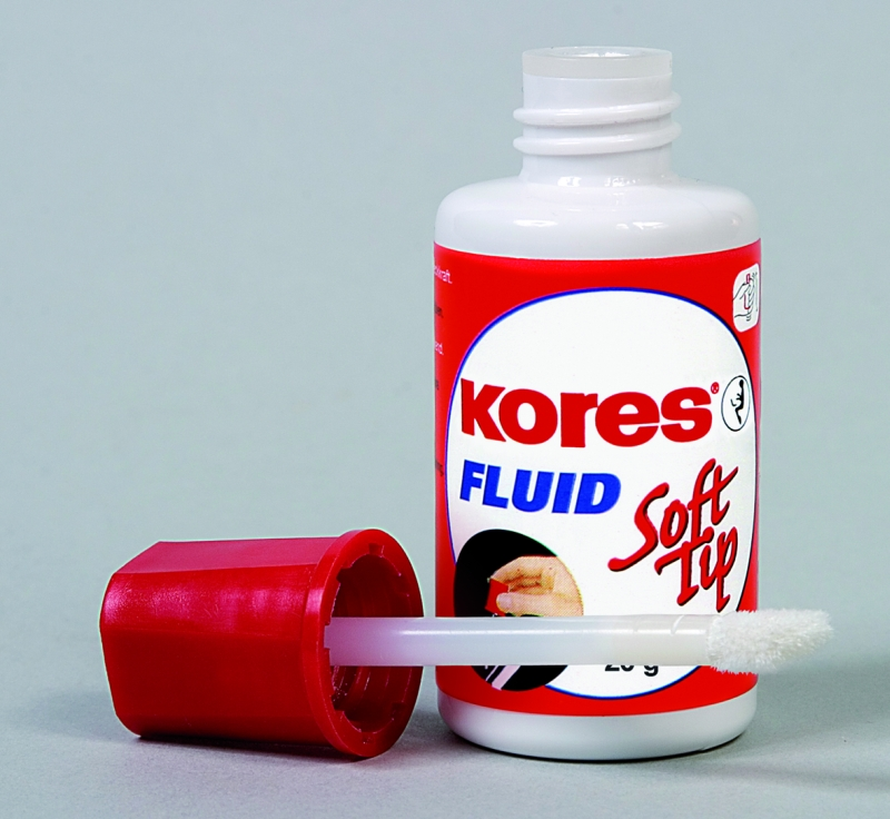 Fluid Corector Pe Baza De Solvent  cu Buretel  25ml  Kores