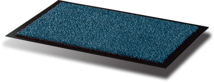 Covoras Intrare  Pentru Praf  Polipropilena/vinil  90 X 120cm  Floortex - Albastru