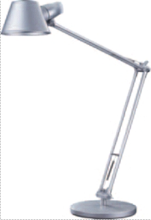 Lampa De Birou Cu Brat Articulat  60w  Alco - Argintie