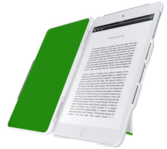 Carcasa Leitz Complete  Cu Stativ Si Capac Pentru Ipad Mini/ipad Mini Cu Retina Display - Alb