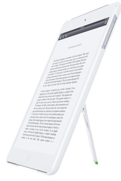 Carcasa Leitz Complete  Cu Stativ Pentru Ipad Mini/ipad Mini Cu Retina Display - Alb