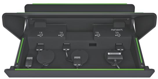 Incarcator Multifunctional Leitz Complete  Pentru Echipamente Mobile - Negru