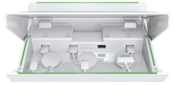 Incarcator Multifunctional Leitz Complete  Pentru Echipamente Mobile - Alb