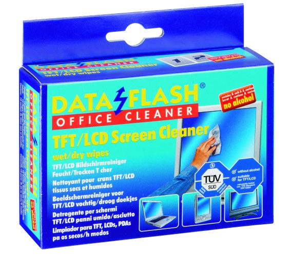 Servetele Curatare Monitoare Tft/lcd  20/cutie (10umede/10uscate)  Data Flash
