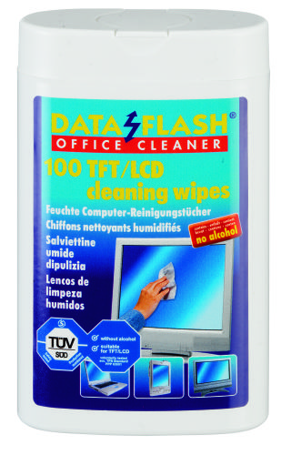 Servetele Umede Mici Pentru Curatare Monitoare Tft/lcd  100/tub  Data Flash