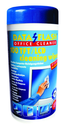 Servetele Umede Pentru Curatare Monitoare Tft/lcd  100/tub  Data Flash