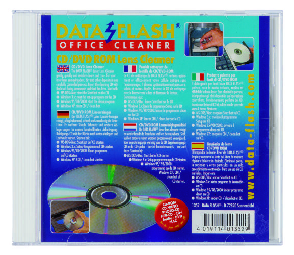 Cd-rom Cleaner  Data Flash