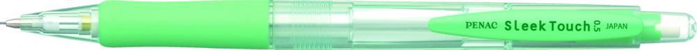 Creion Mecanic Penac Sleek Touch  Rubber Grip  0.5mm  Varf Metalic - Accesorii Verde Pastel