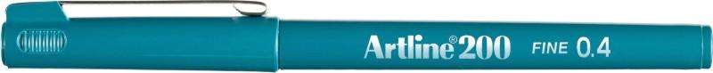 Liner Artline 200  Varf Fetru 0.4mm - Verde Inchis