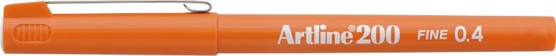 Liner Artline 200  Varf Fetru 0.4mm - Portocaliu