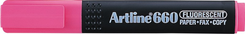 Textmarker Artline 660  Varf Tesit 1.0-4.0mm - Roz Fluorescent