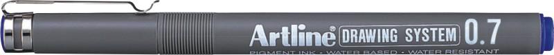 Marker Pentru Desen Tehnic Artline  Varf Fetru 0.7mm - Albastru
