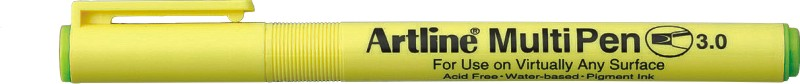 Marker Universal Artline Multi Pen  Varf Tesit 3.0mm - Vernil