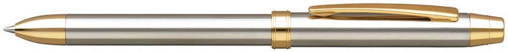 Pix Multifunctional De Lux Penac Ele-sg  In Cutie Cadou  Corp Argintiu - Accesorii Aurii