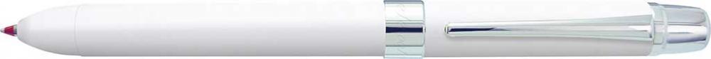 Pix Multifunctional Cu Doua Culori / Creion Mecanic 0.5mm  Penac Ele 001 - Corp Alb