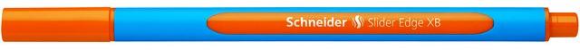 Pix Schneider Slider Edge Xb  Rubber Grip  Varf 1.4mm - Scriere Orange