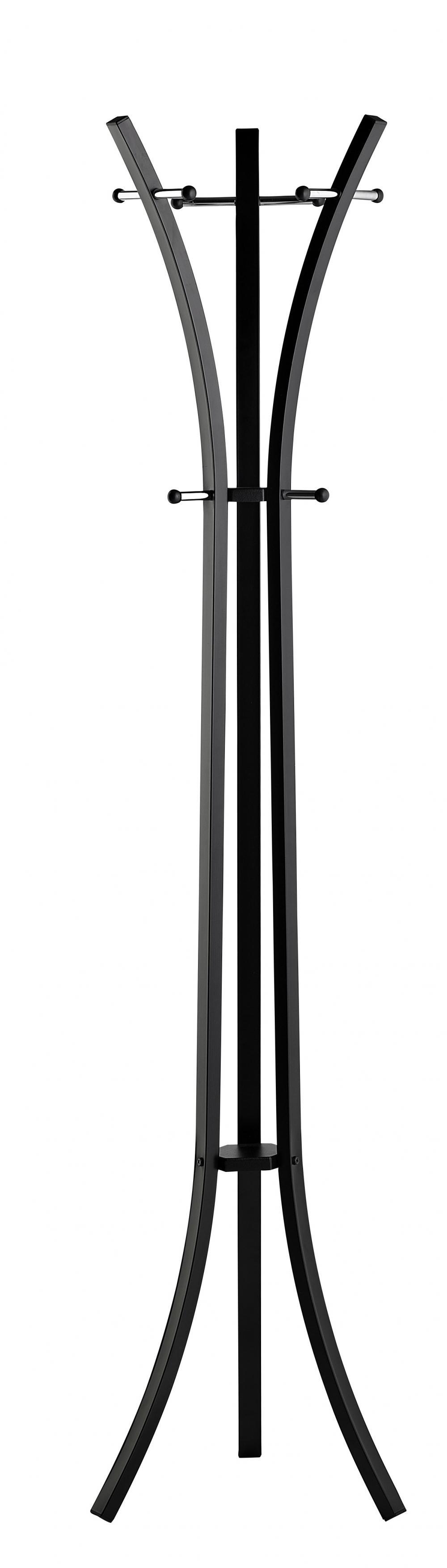 Cuier Metalic Alco Design  178/55cm  Cu 9 Agatatori Metalice - Alb